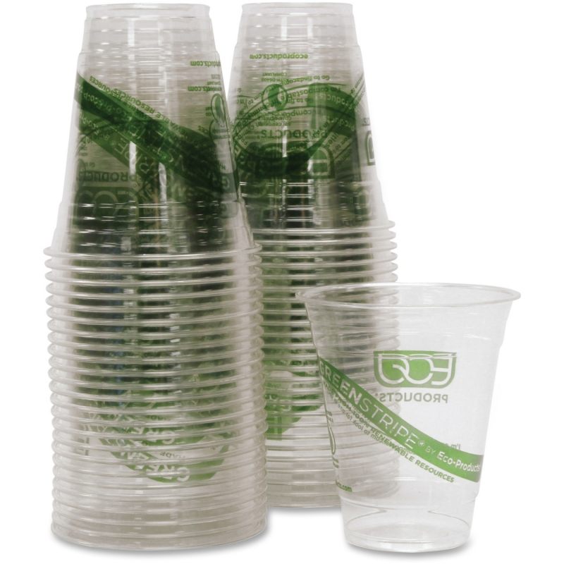 Eco-Products Eco-Products GreenStripe Cold Cups EPCC12GSCT ECOEPCC12GSCT
