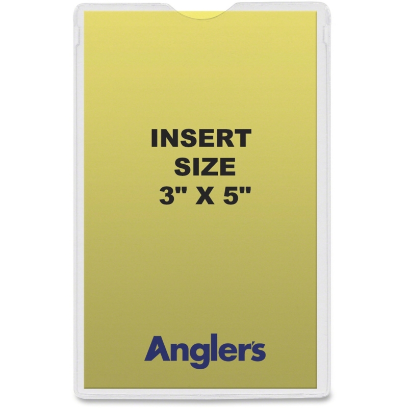 Anglers Heavy Crystal Clear Poly Envelopes 142050 ANG142050