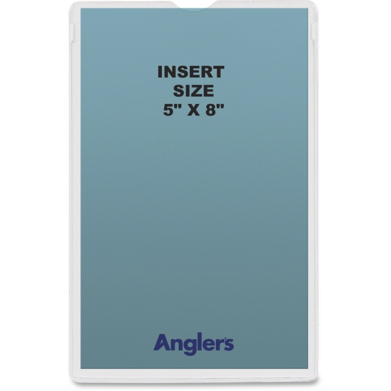 Anglers Self-stick Crystal Clear Poly Envelopes 1452P50 ANG1452P50