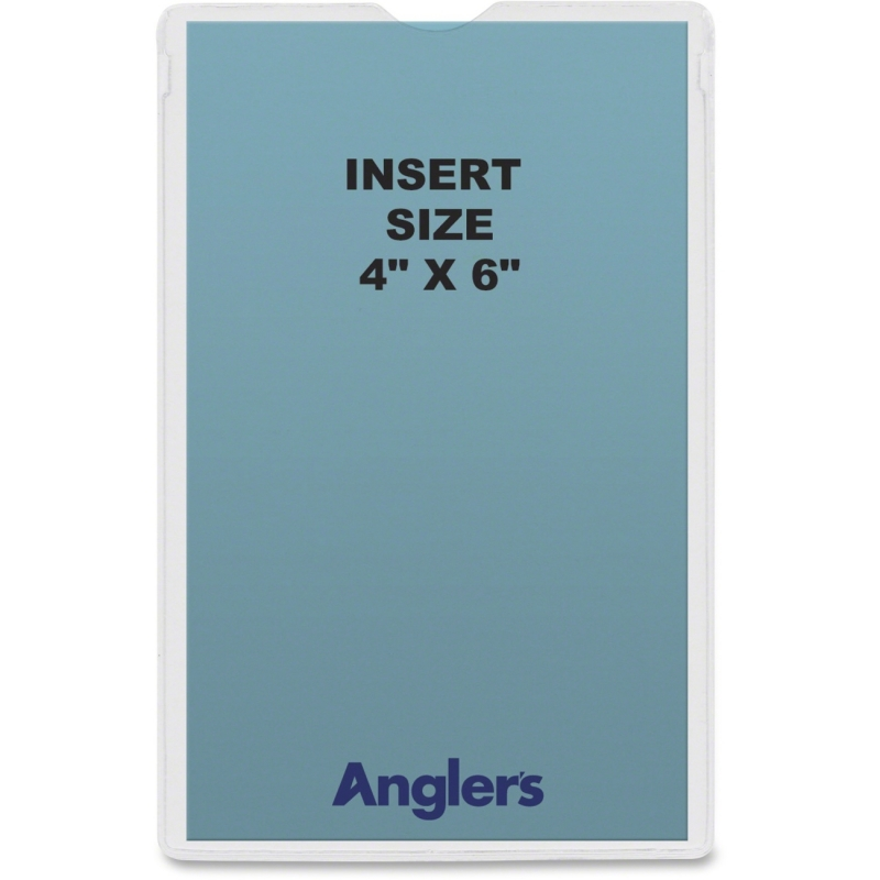 Anglers Self-stick Crystal Clear Poly Envelopes 1444P50 ANG1444P50