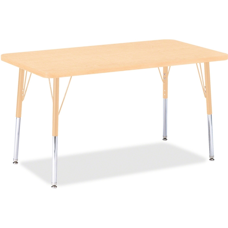 Berries Adult Height Maple Top/Edge Rectangle Table 6478JCA251 JNT6478JCA251