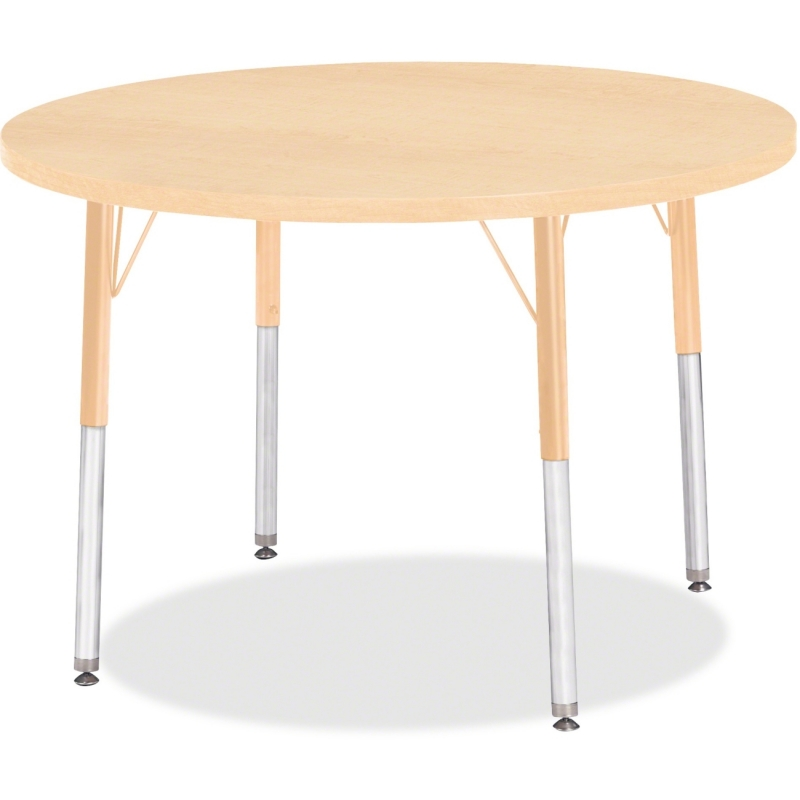 Berries Adult Height Maple Top/Edge Round Table 6488JCA251 JNT6488JCA251