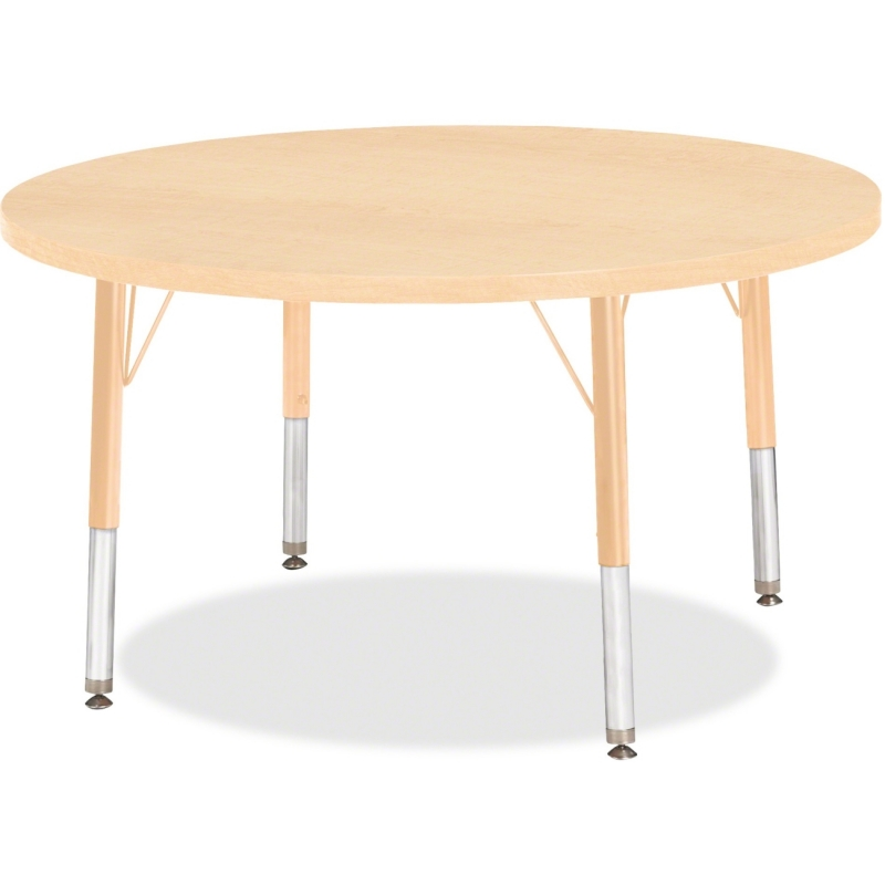 Berries Toddler Height Maple Top/Edge Round Table 6488JCT251 JNT6488JCT251