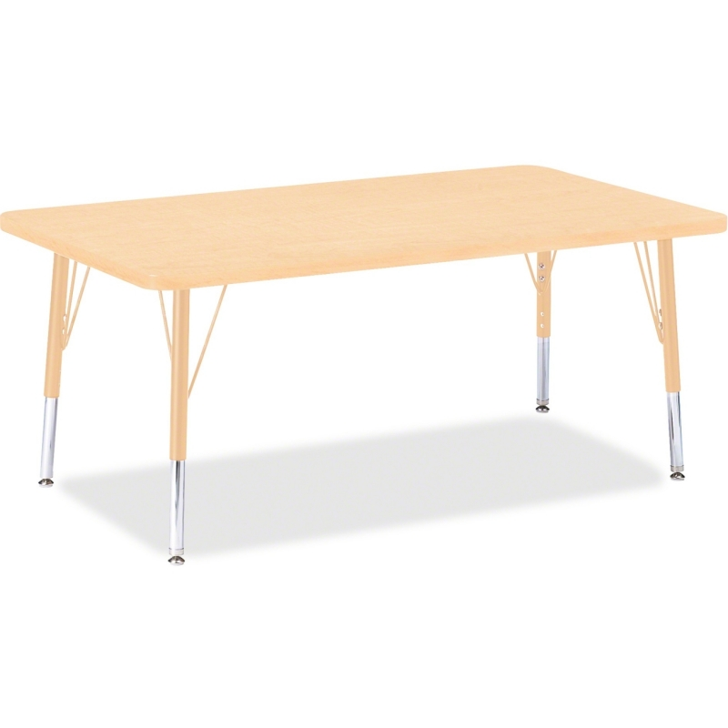 Berries Toddler Height Maple Prism Rectangle Table 6473JCT251 JNT6473JCT251