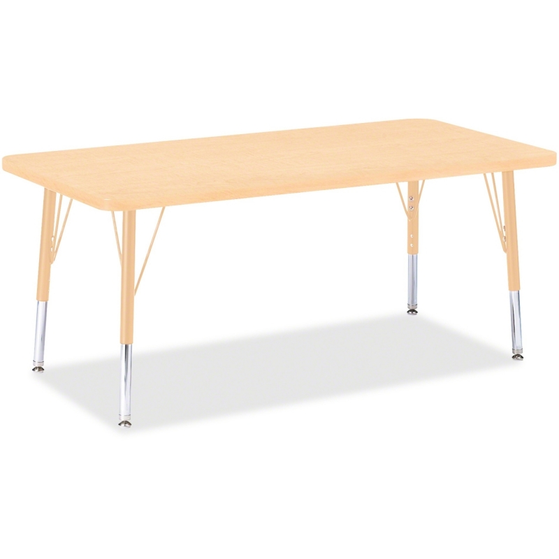 Berries Adult Height Maple Top/Edge Rectangle Table 6403JCA251 JNT6403JCA251