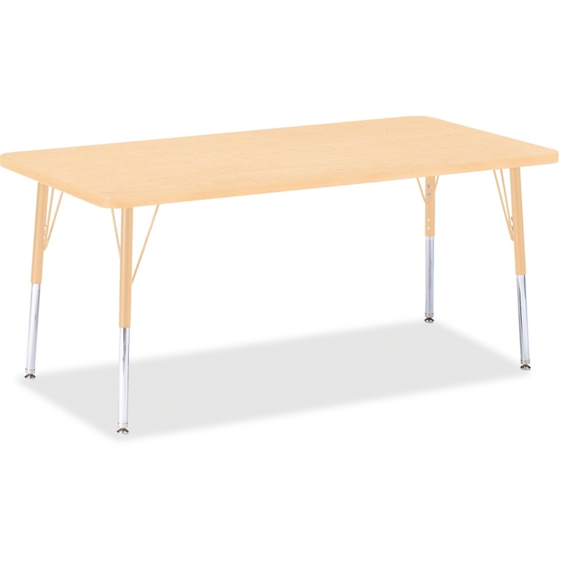 Berries Adult Height Maple Top/Edge Rectangle Table 6408JCA251 JNT6408JCA251
