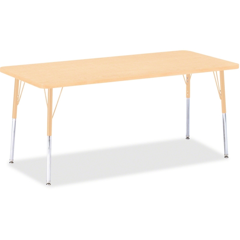 Berries Adult Height Maple Top/Edge Rectangle Table 6413JCA251 JNT6413JCA251