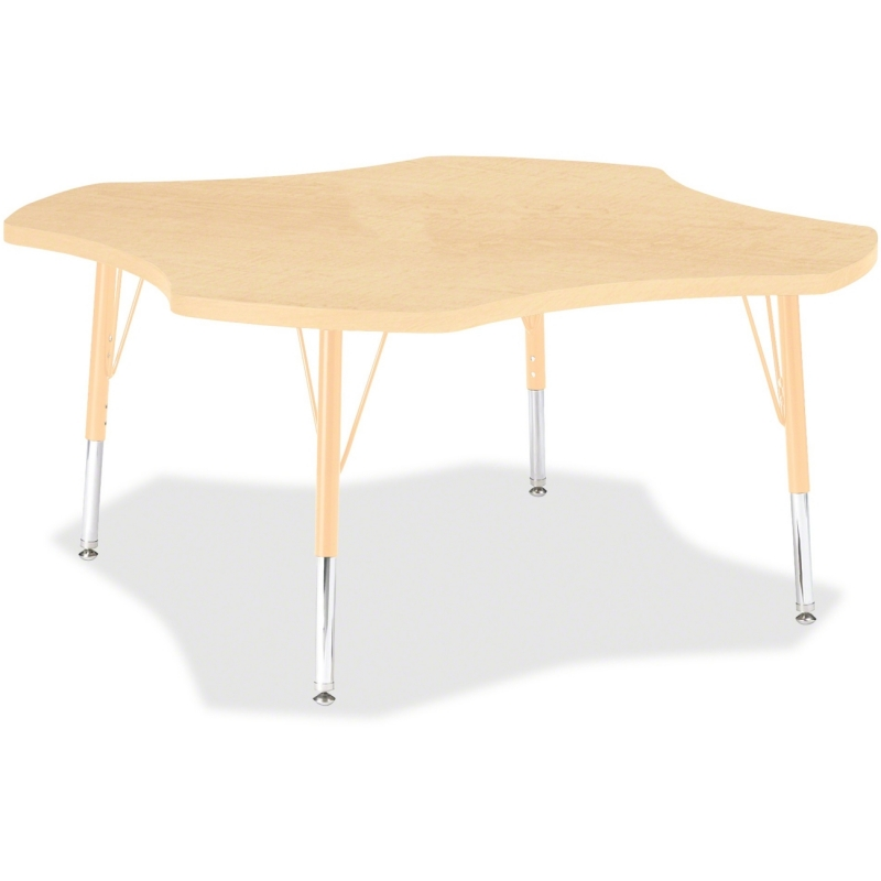 Berries Toddler Maple Laminate Four-leaf Table 6453JCT251 JNT6453JCT251