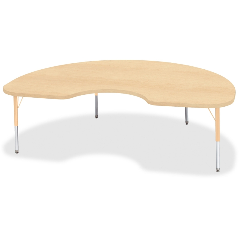 Berries Toddler Height Maple Top/Edge Kidney Table 6423JCT251 JNT6423JCT251