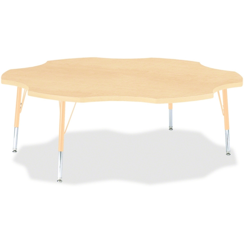 Berries Toddler Maple Laminate Six-leaf Table 6458JCT251 JNT6458JCT251