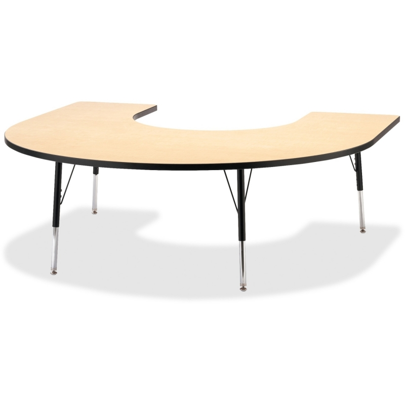 Berries Adult Black Edge Horseshoe Table 6445JCA011 JNT6445JCA011