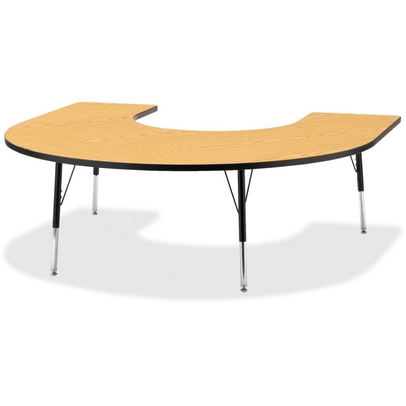 Berries Adult Black Edge Horseshoe Table 6445JCA210 JNT6445JCA210