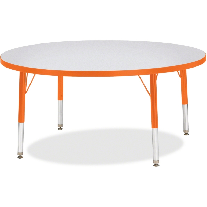 Berries Toddler Height Color Edge Round Table 6468JCT114 JNT6468JCT114