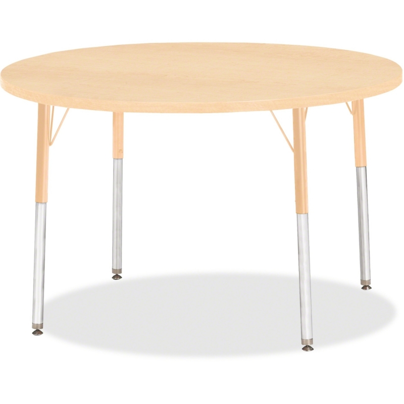 Berries Adult Height Maple Top/Edge Round Table 6468JCA251 JNT6468JCA251