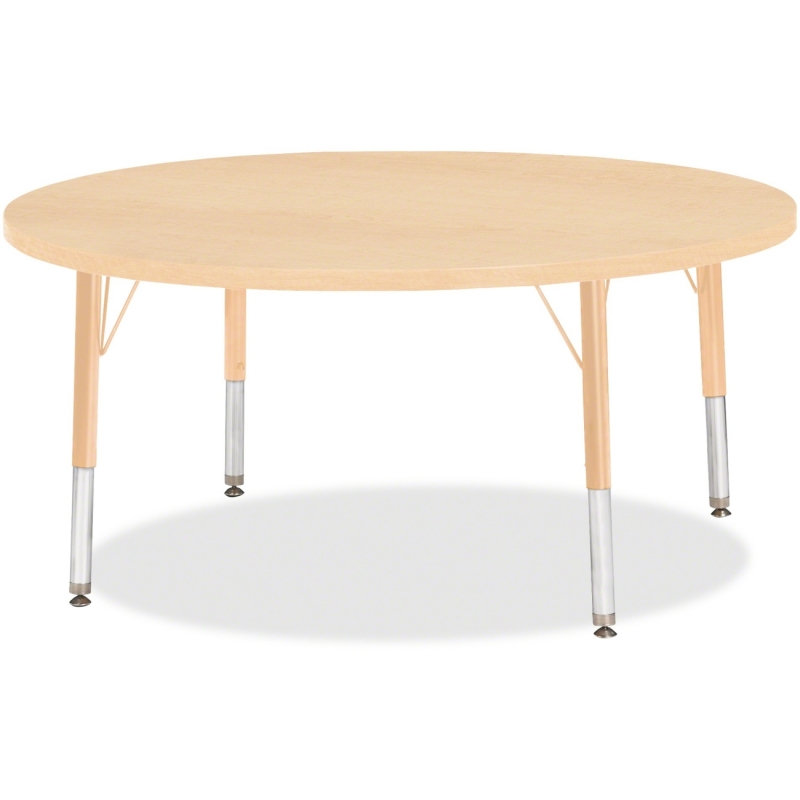 Berries Toddler Height Maple Top/Edge Round Table 6468JCT251 JNT6468JCT251