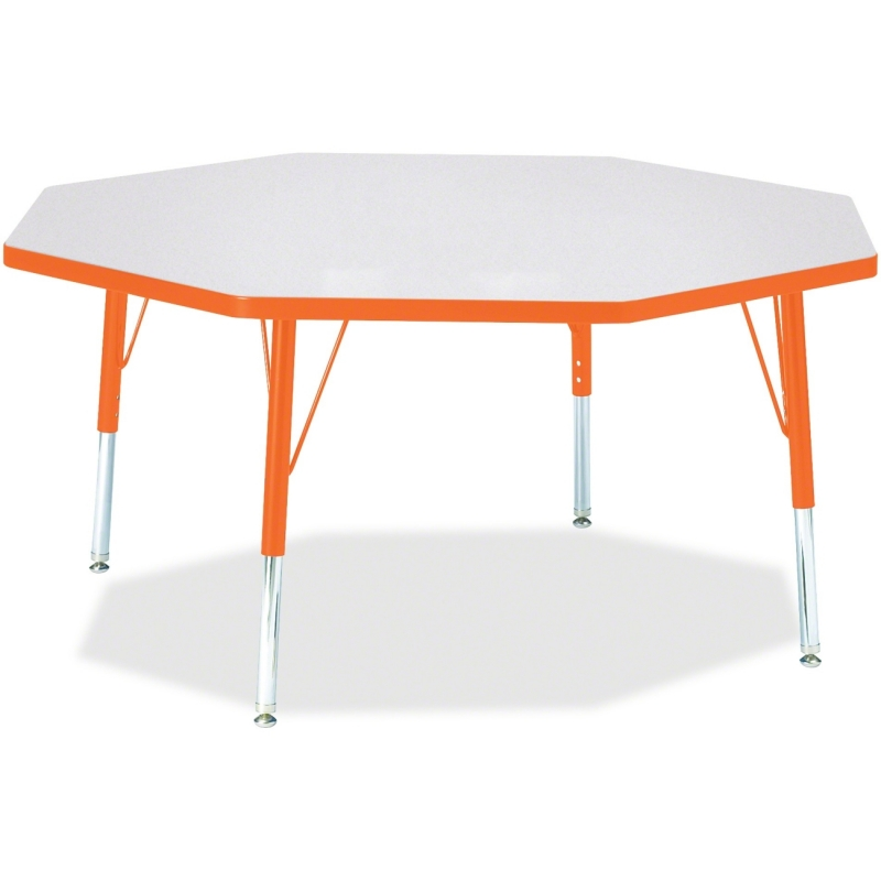 Berries Toddler Height Color Edge Octagon Table 6428JCT114 JNT6428JCT114