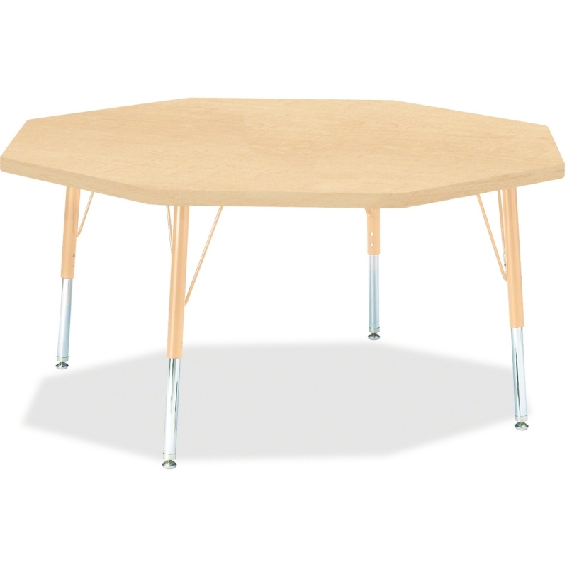 Berries Toddler Height Maple Top/Edge Octagon Table 6428JCT251 JNT6428JCT251