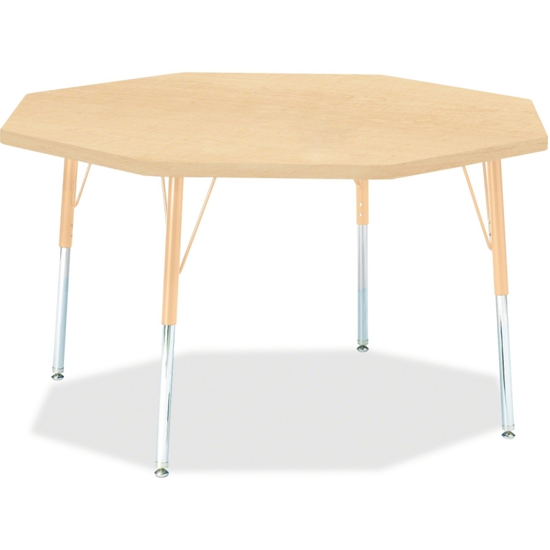 Berries Adult Height Maple Top/Edge Octagon Table 6428JCA251 JNT6428JCA251