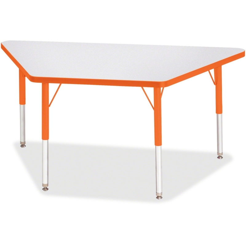 Berries Elementary Height Prism Edge Trapezoid Table 6438JCE114 JNT6438JCE114