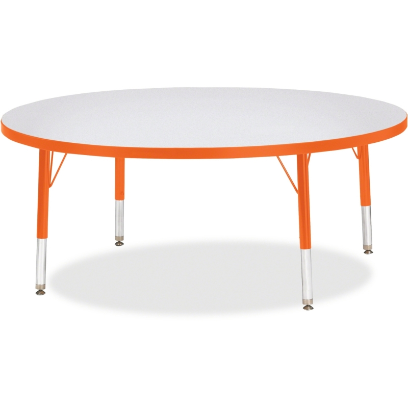 Berries Toddler Height Color Edge Round Table 6433JCT114 JNT6433JCT114