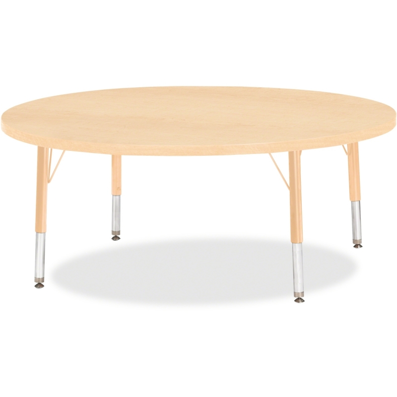 Berries Toddler Height Maple Top/Edge Round Table 6433JCT251 JNT6433JCT251