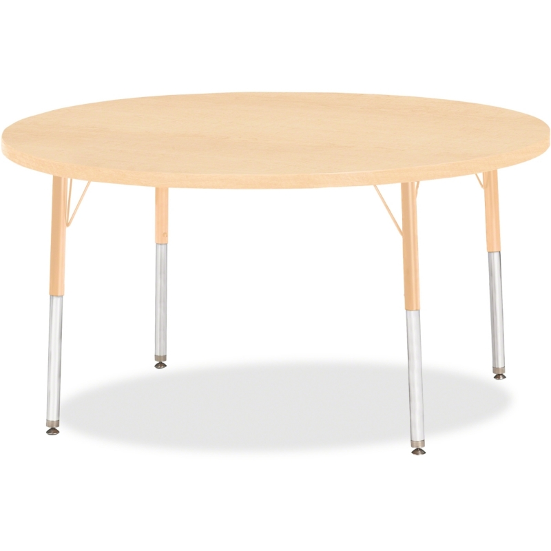 Berries Adult Height Maple Top/Edge Round Table 6433JCA251 JNT6433JCA251