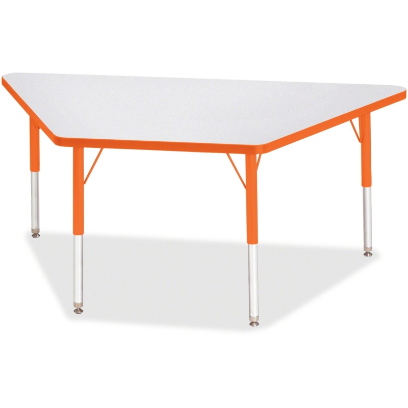 Berries Elementary Height Prism Edge Trapezoid Table 6443JCE114 JNT6443JCE114