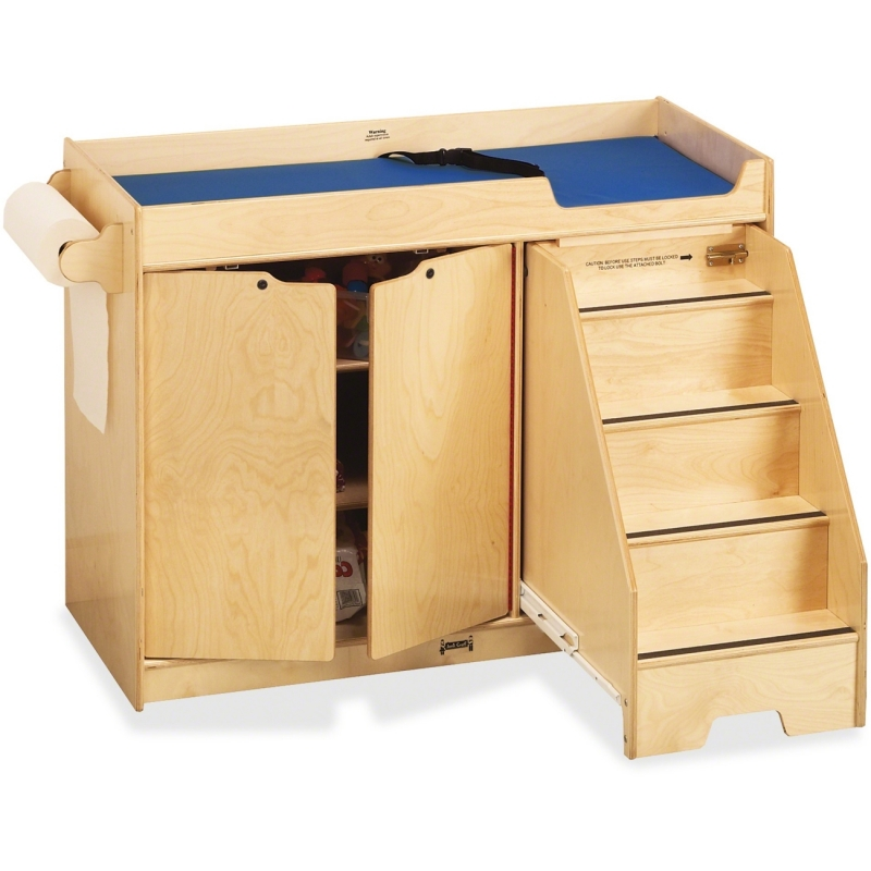 Jonti-Craft Pull-out Stairs Changing Table 5137JC JNT5137JC