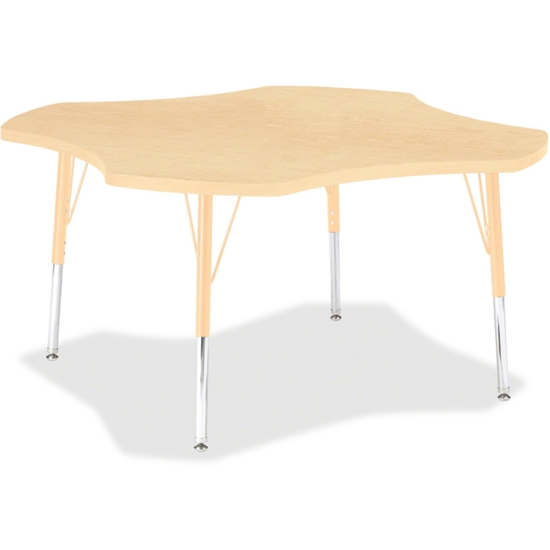 Berries Elementary Maple Laminate Four-leaf Table 6453JCE251 JNT6453JCE251