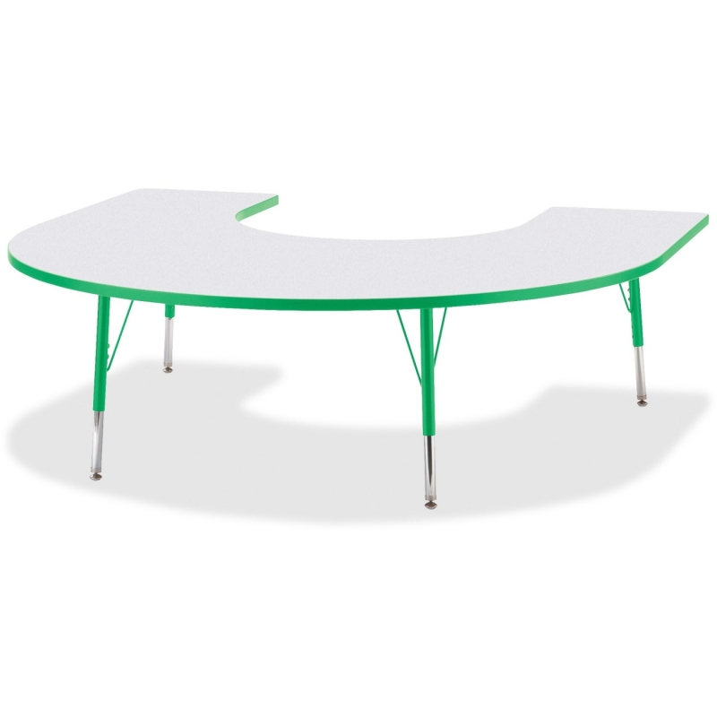 Berries Elementary Height Prism Edge Horseshoe Table 6445JCE119 JNT6445JCE119