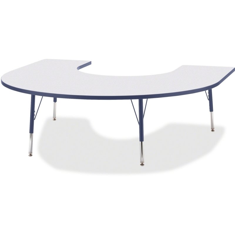 Berries Elementary Height Prism Edge Horseshoe Table 6445JCE112 JNT6445JCE112