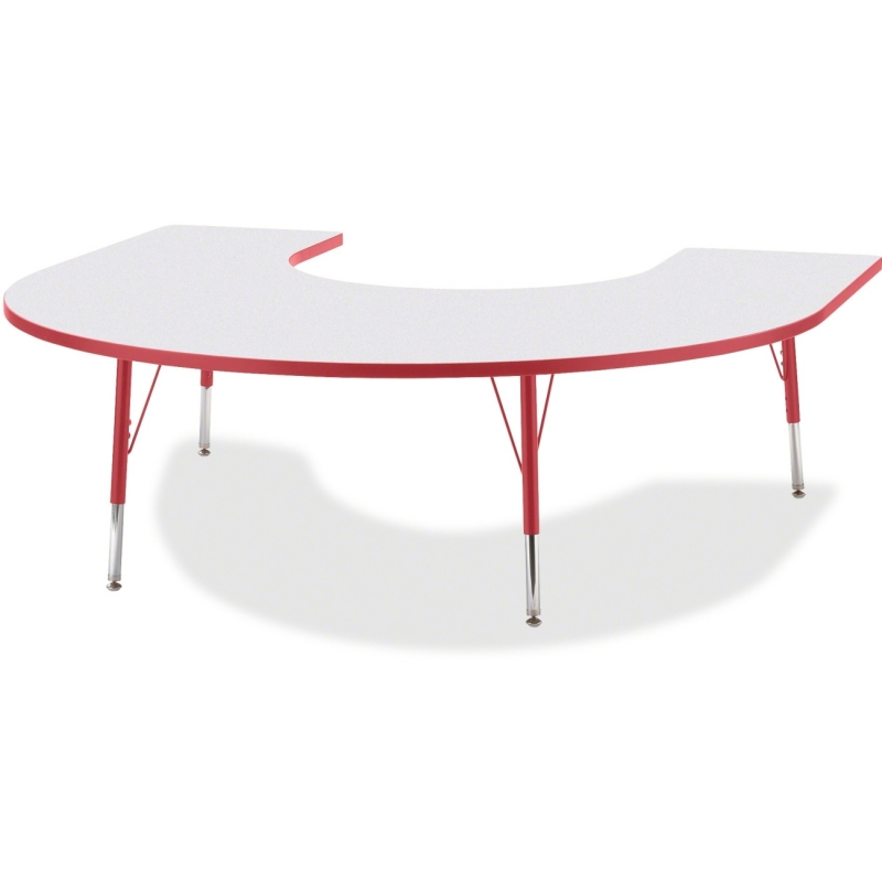 Berries Elementary Height Prism Edge Horseshoe Table 6445JCE008 JNT6445JCE008