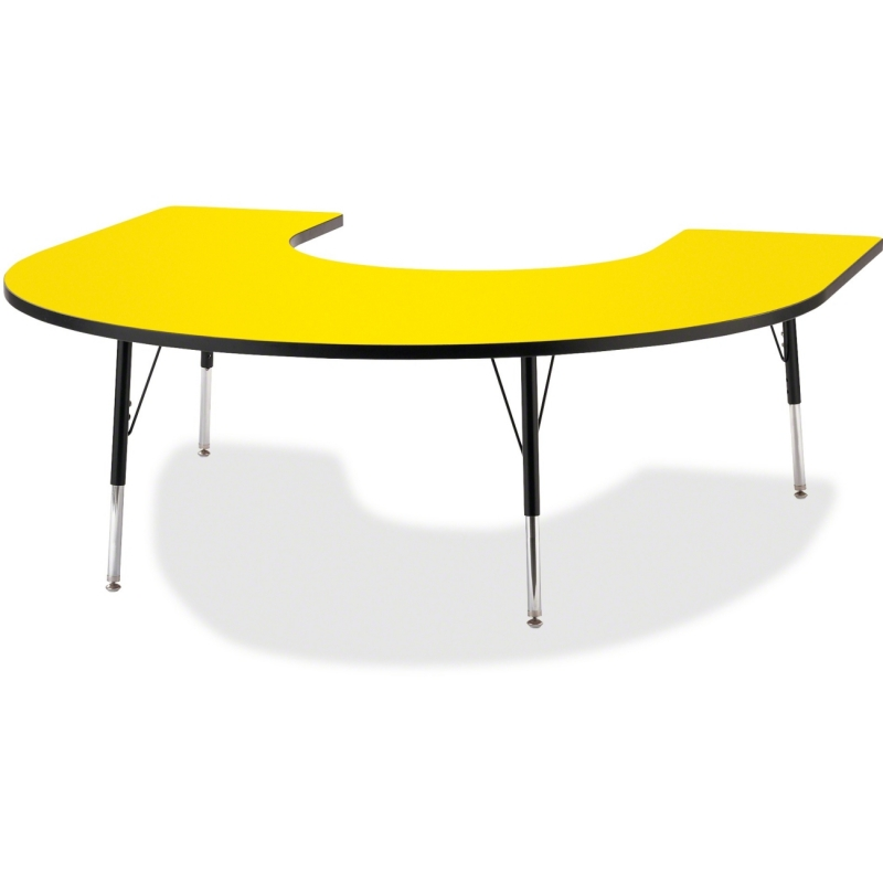 Berries Adult Black Edge Horseshoe Table 6445JCA187 JNT6445JCA187