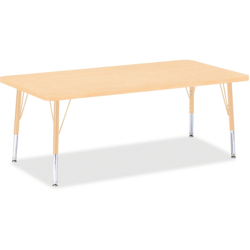 Berries Jonti-Craft Toddler Height Maple Prism Rectangle Table 6408JCT251 JNT6408JCT251