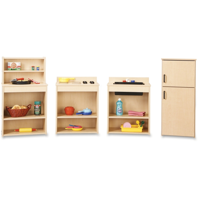 young Time 4-piece Play Kitchen Set 7080YT441 JNT7080YT441