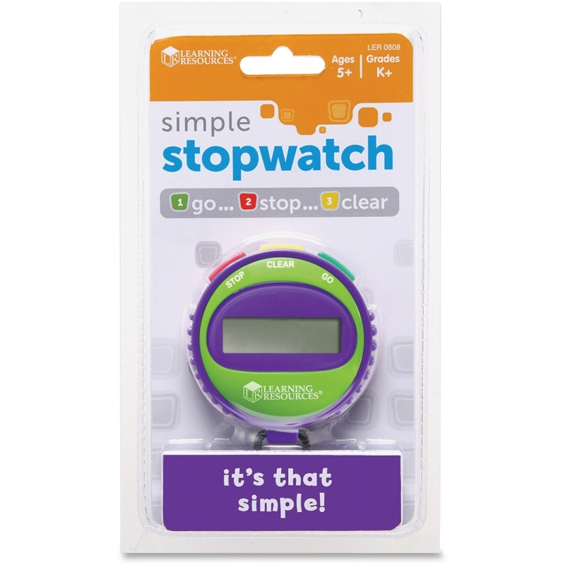 Learning Resources Simple StopWatch LER0808 LRNLER0808