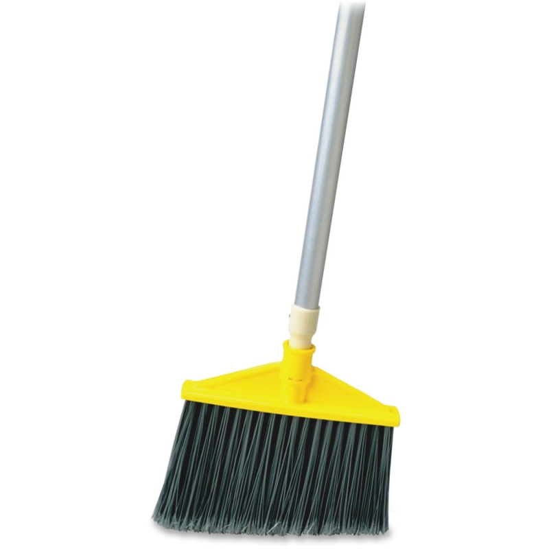 Rubbermaid Aluminum Handle Angle Broom 638500GRA RCP638500GRA
