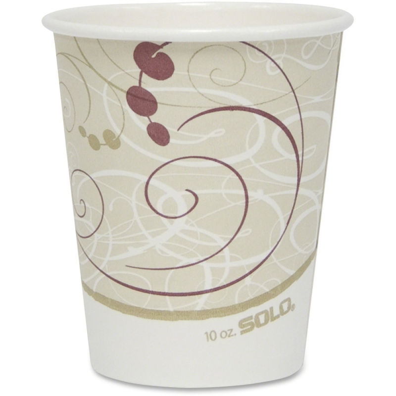 Solo Poly Lined Hot Paper Cups 370SMJ800 SCC370SMJ8000