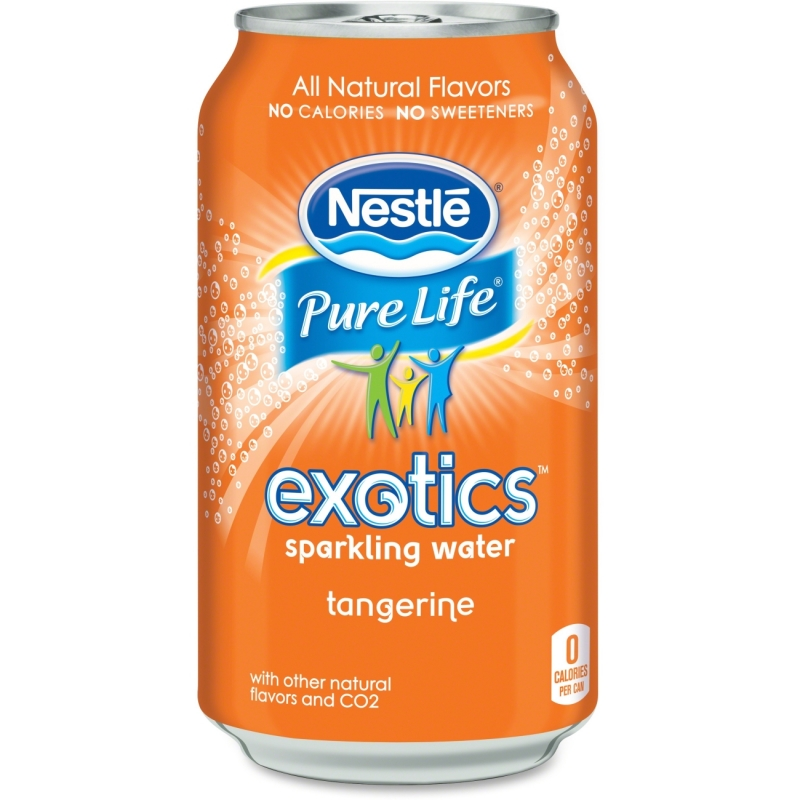 Pure Life Exotics Tangerine Sparkling Water 12252794 NLE12252794
