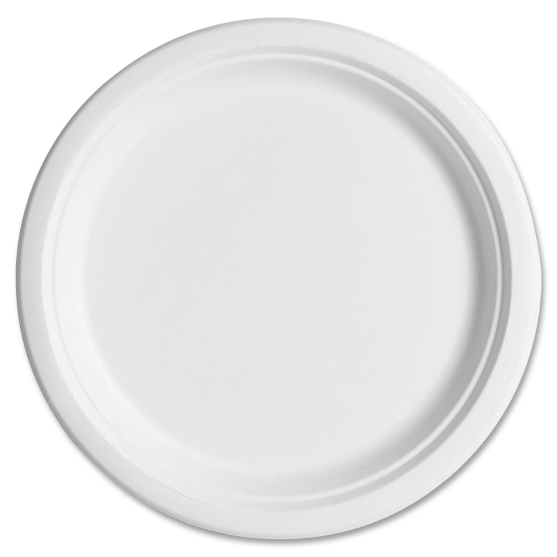 Eco-Products Sugarcane Plates EPP005CT ECOEPP005CT