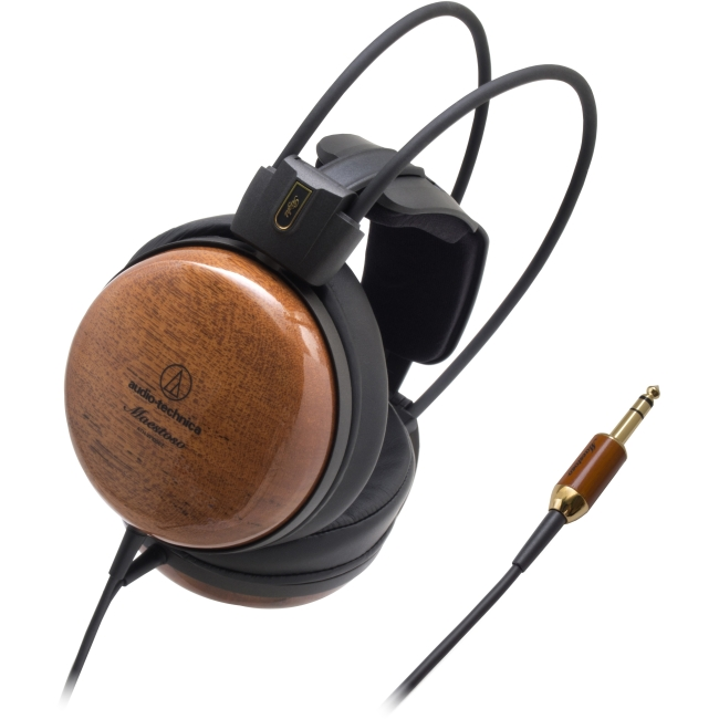 Audio-Technica Audiophile Closed-back Dynamic Wooden Headphones ATH-W1000Z