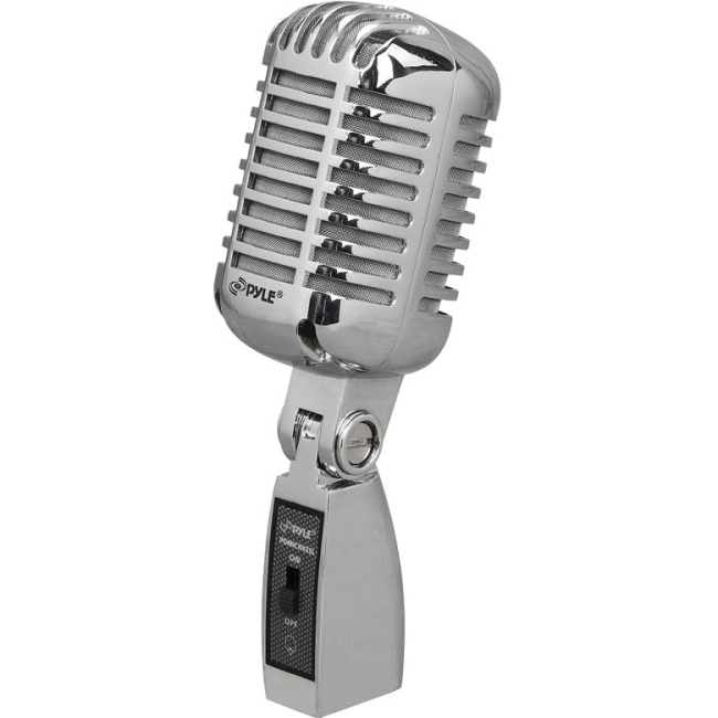 PylePro Classic Retro Microphone PDMICR42SL