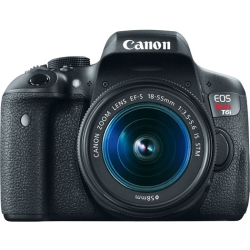 Canon EOS Rebel EF-S 18-55mm f/3.5-5.6 IS STM Kit 0591C003 T6i