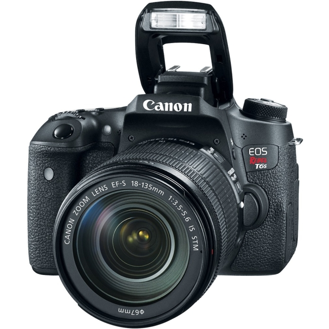 Canon EOS Rebel EF-S 18-135mm f/3.5-5.6 IS STM Kit 0020C003 T6s