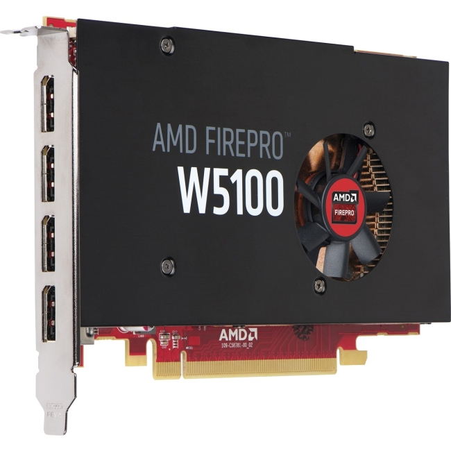 HP AMD FirePro W5100 4GB Graphics Card J3G92AT