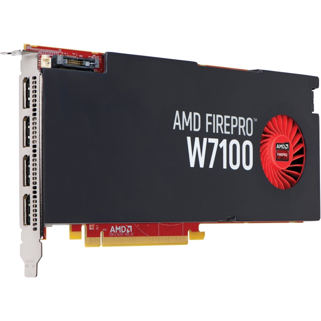 HP AMD FirePro W7100 8GB Graphics Card J3G93AA