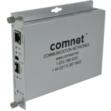 ComNet ComFit 2 Port 10/100 Mbps Ethernet Media Converter with POE CNFE2MCPOE