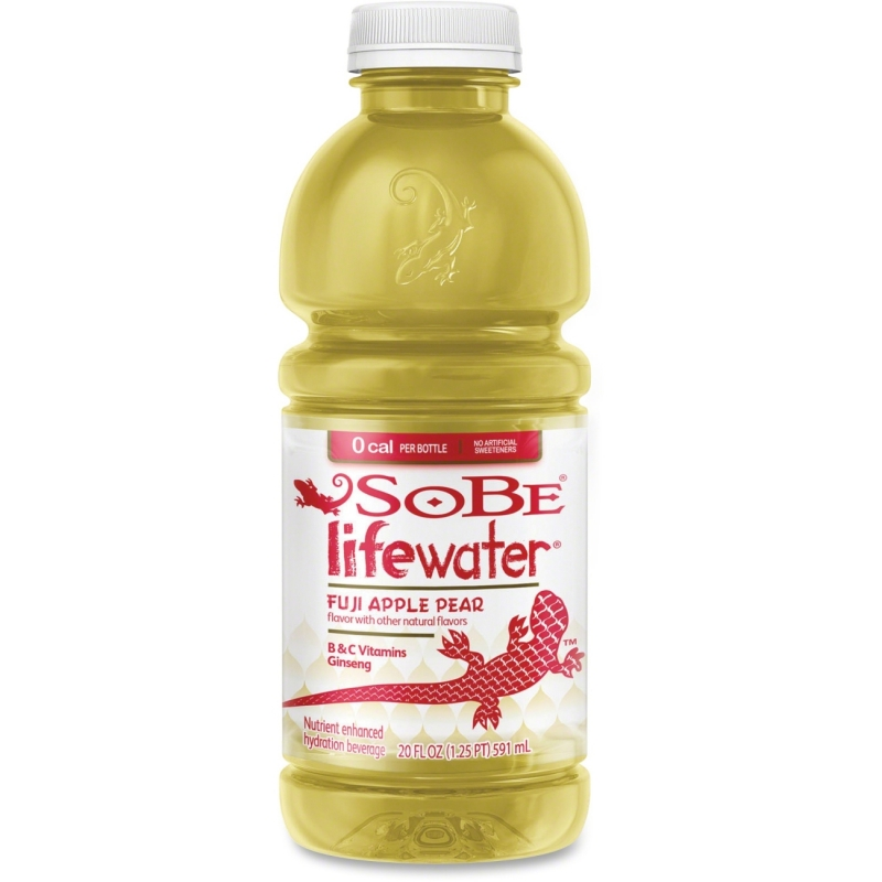 Sobe Lifewater Fuji Apple Bottled Beverage 108927 PEP108927