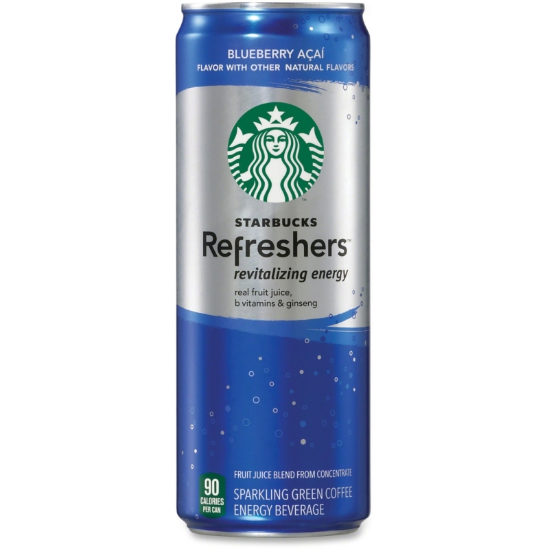 Starbucks Refreshers Blueberry Acai Energy Drink 141604 PEP141604