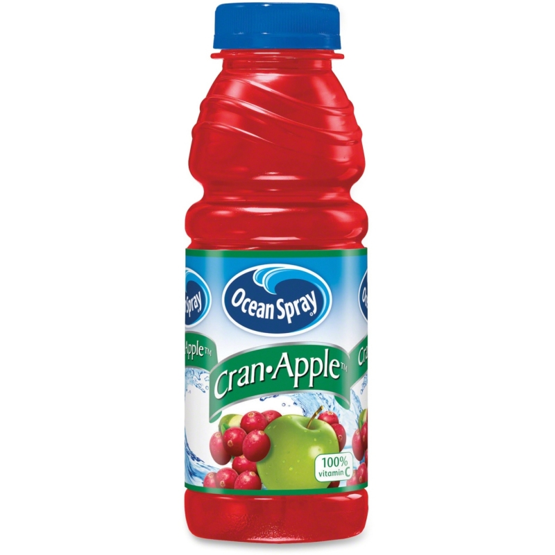 Ocean Spray Bottled Cran-Apple Juice Drink 141704 PEP141704